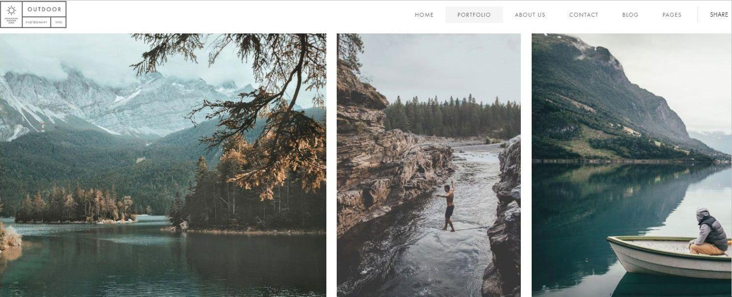 Best Photography Portfolio Website Templates