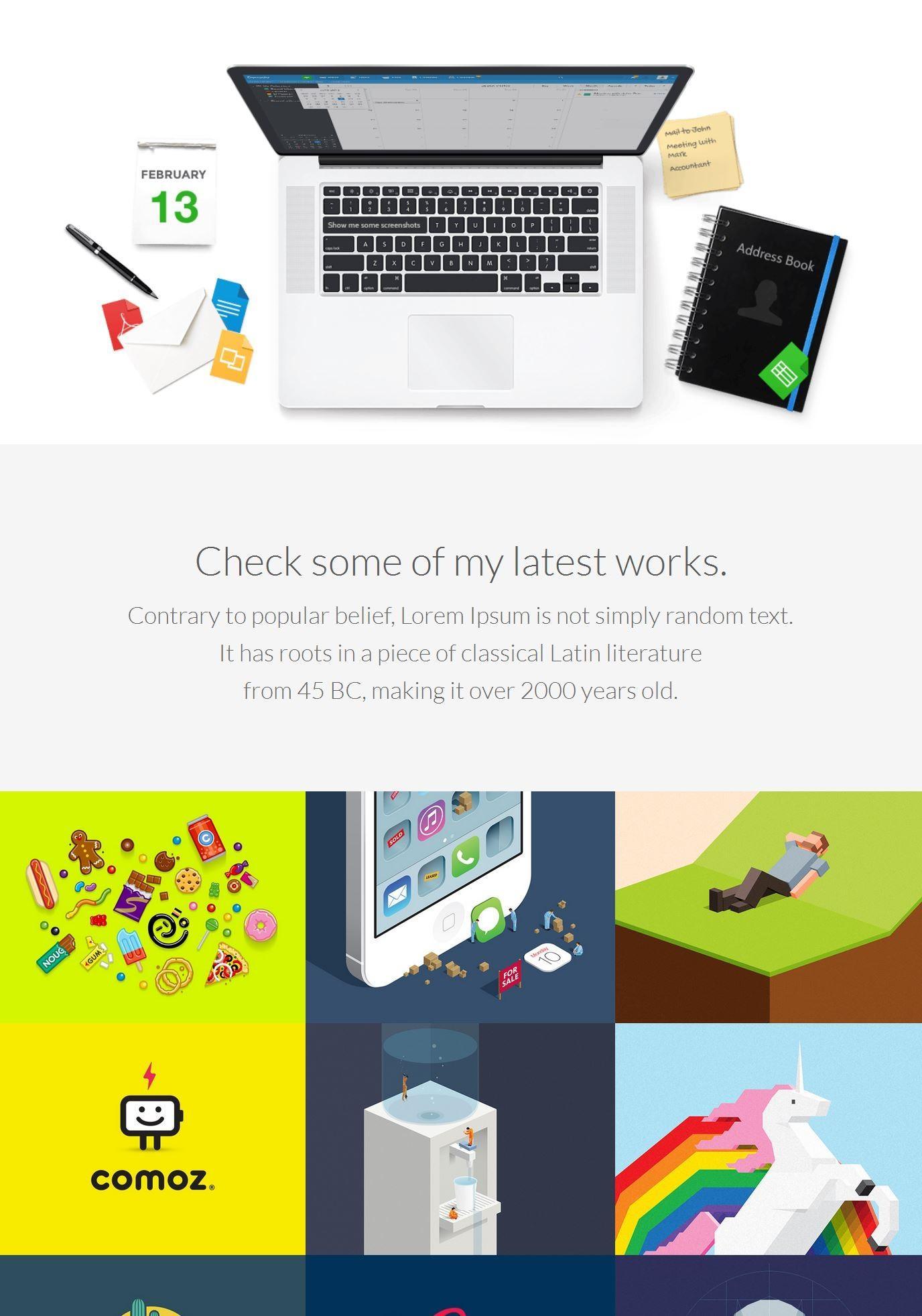 Best Portfolio Website Templates Free