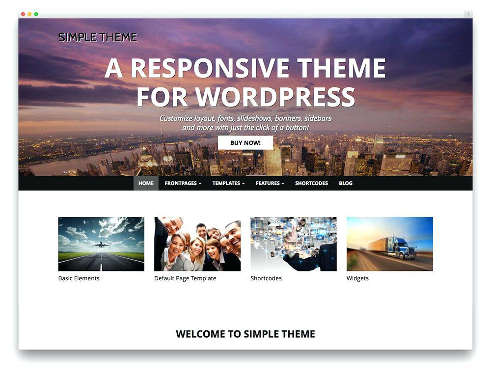 Best Premium WordPress Templates 2017