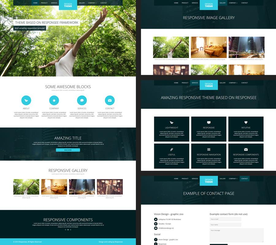 Best Responsive Dreamweaver Templates