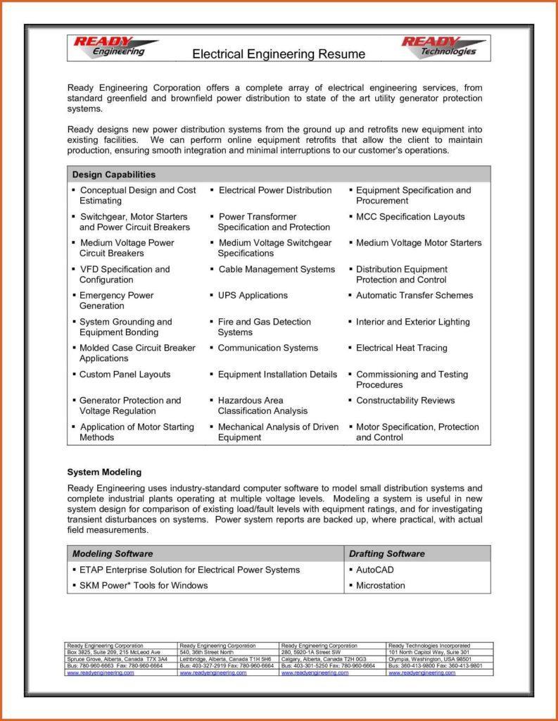 Best Resume Format Pdf Free