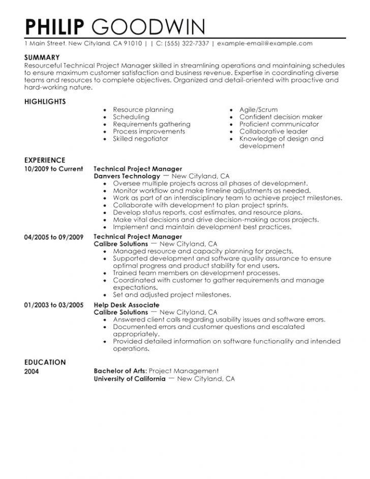 Best Resume Template Singapore