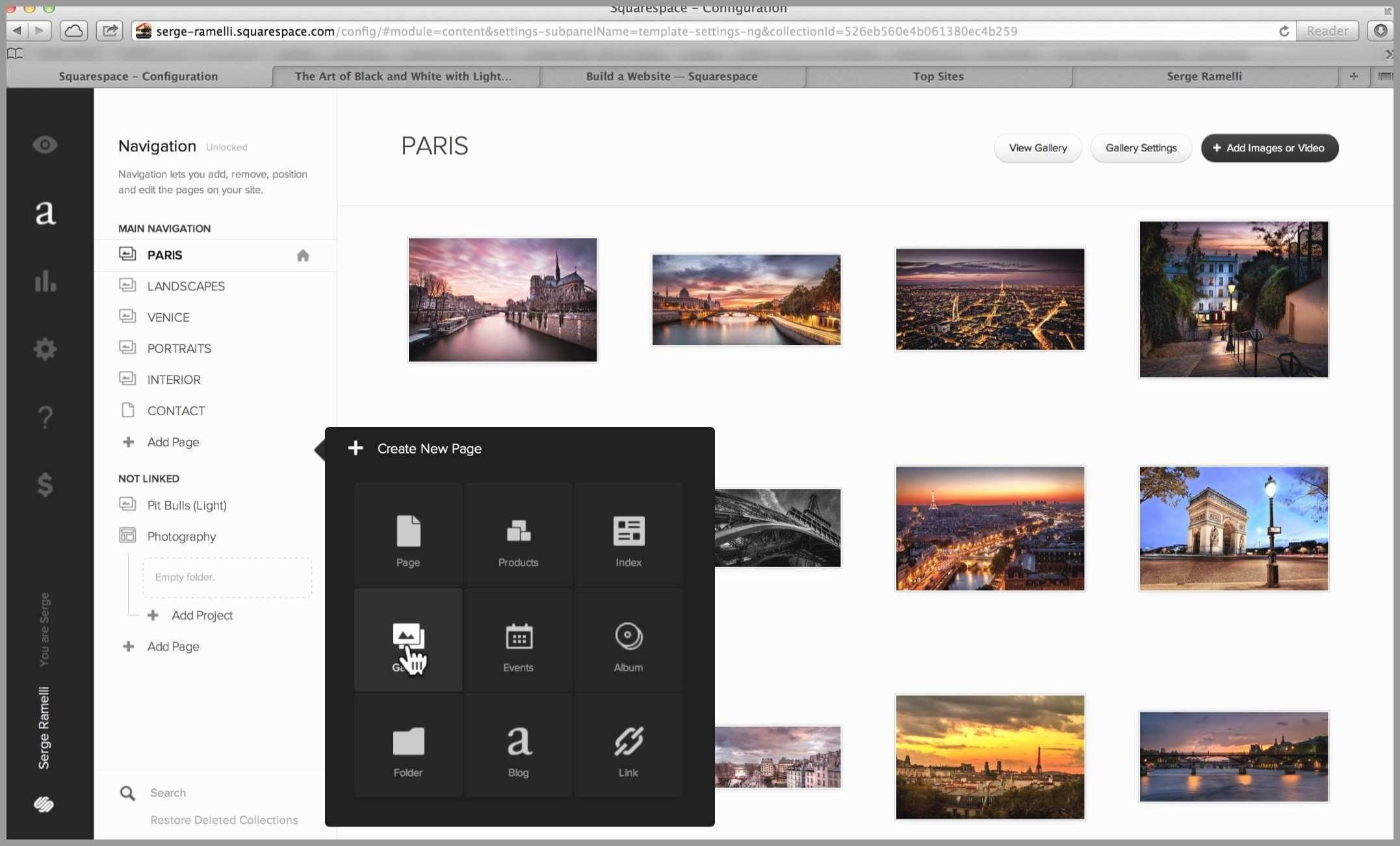 Best Squarespace Template For Photographers 2017