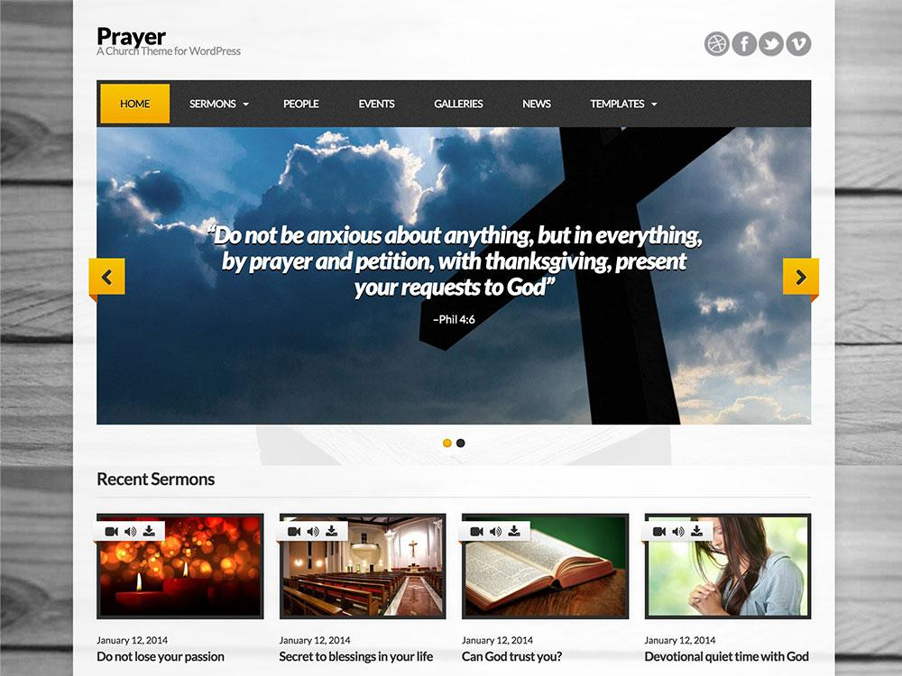 Best Website Templates For Churches