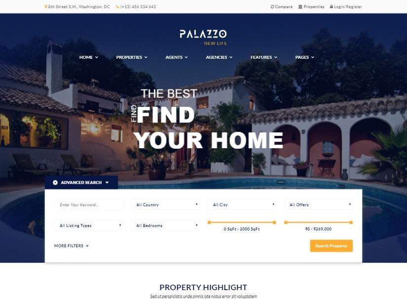 Best WordPress Real Estate Templates