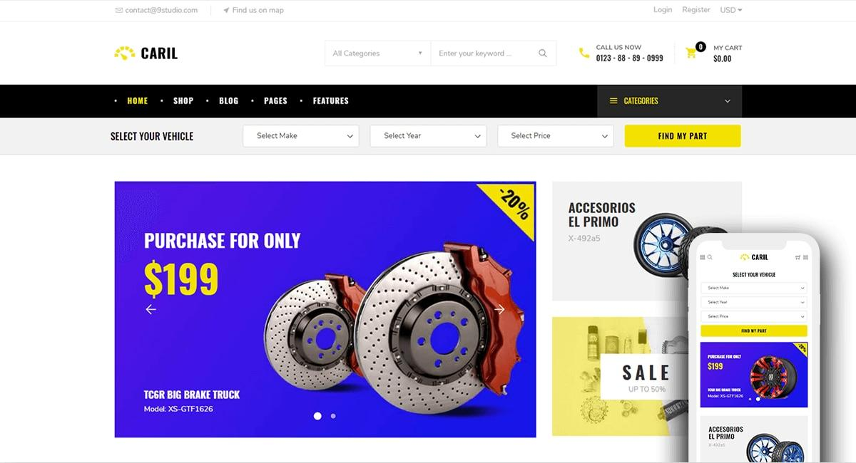 Bigcommerce Templates Themes