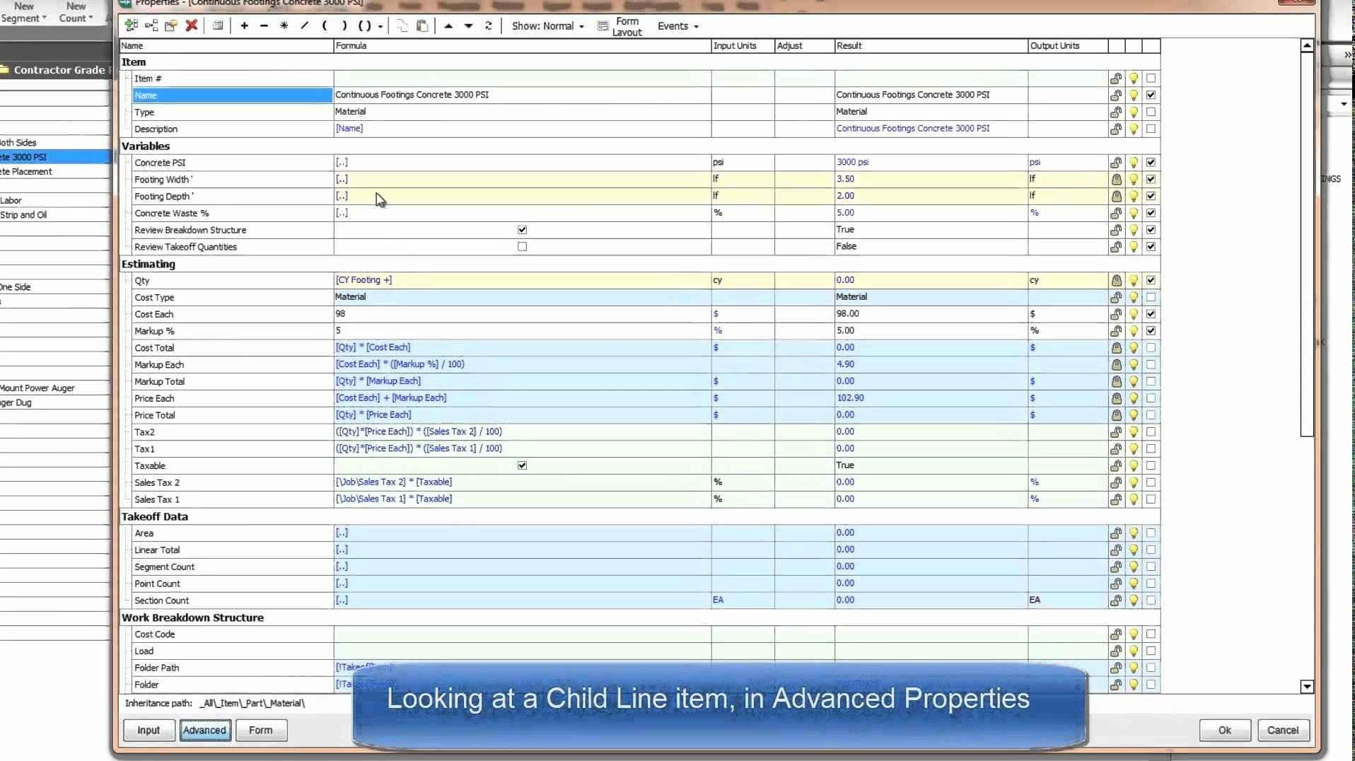 Bill Of Materials Excel Template Free