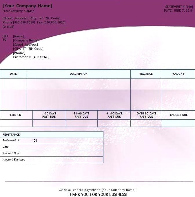 Billing Invoice Template Access