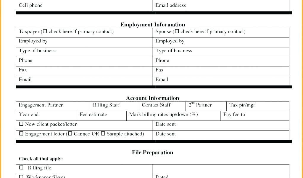 Billing Rate Sheet Template