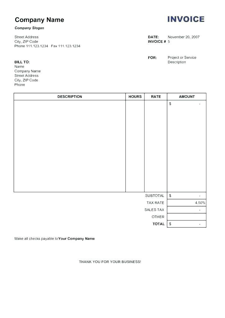 Billing Timesheet Template Excel