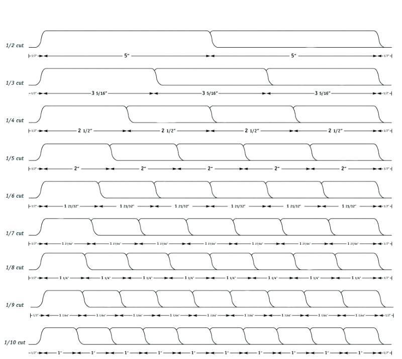 Binder Tab Printing Template