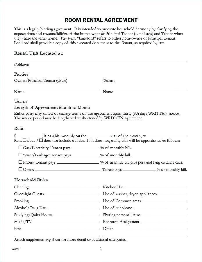 Binding Contract Format