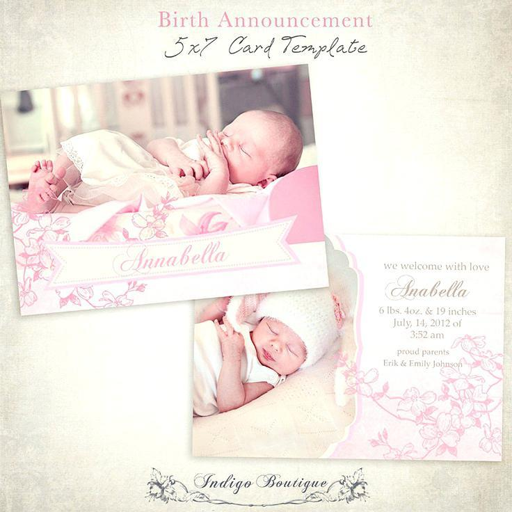 Birth Announcement Template App