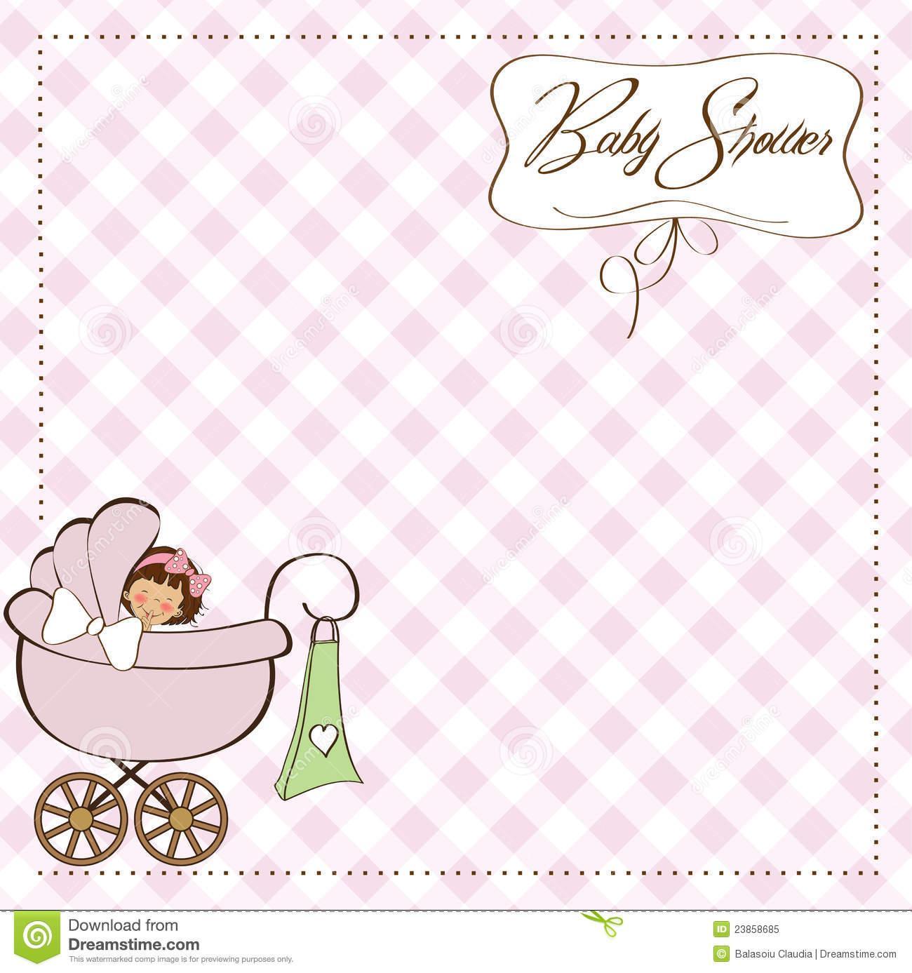 Birth Announcement Template Girl