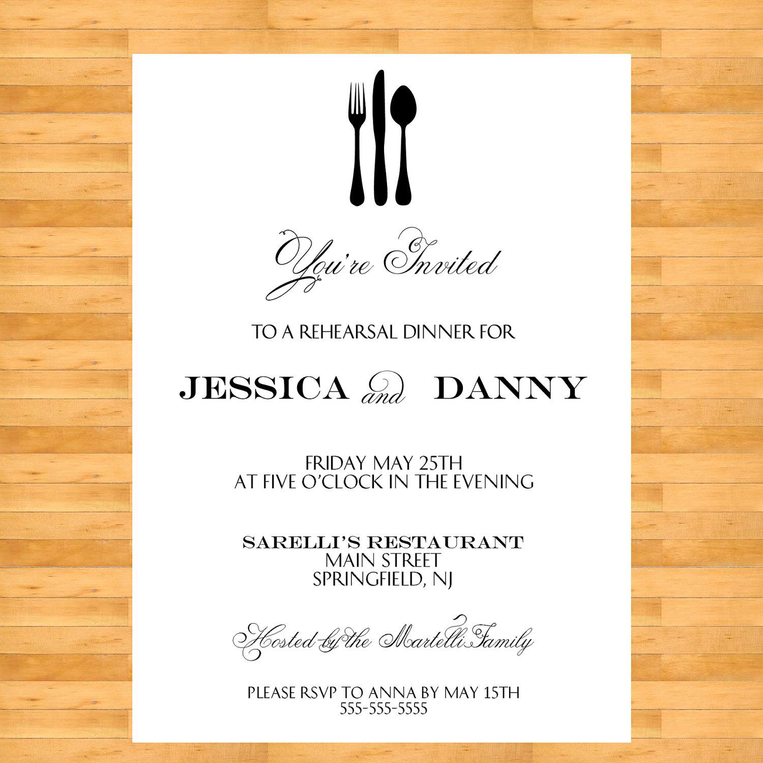 Birthday Dinner Invitation Wording For Adults