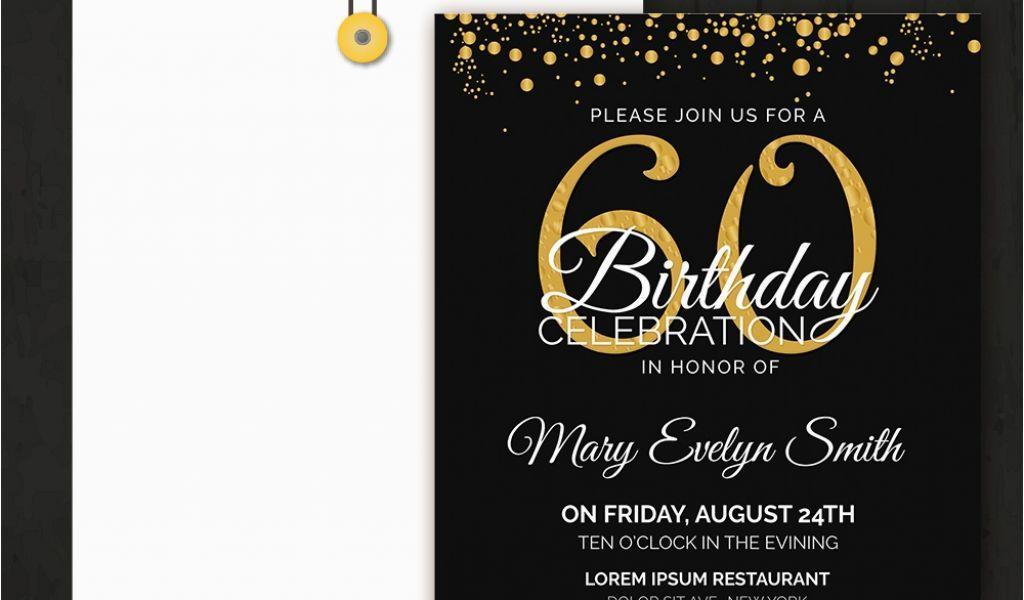 Birthday Invitation Editable Templates Word