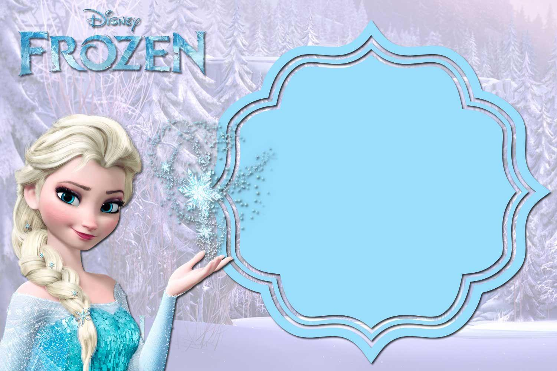 Birthday Party Invitation Templates Frozen