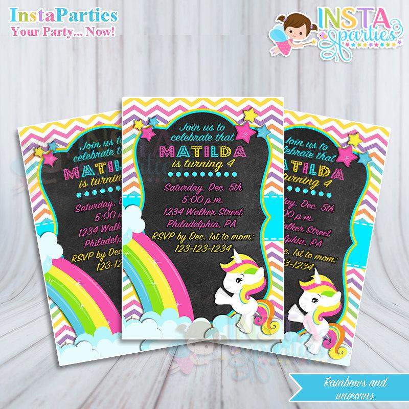 Birthday Party Invites Printable