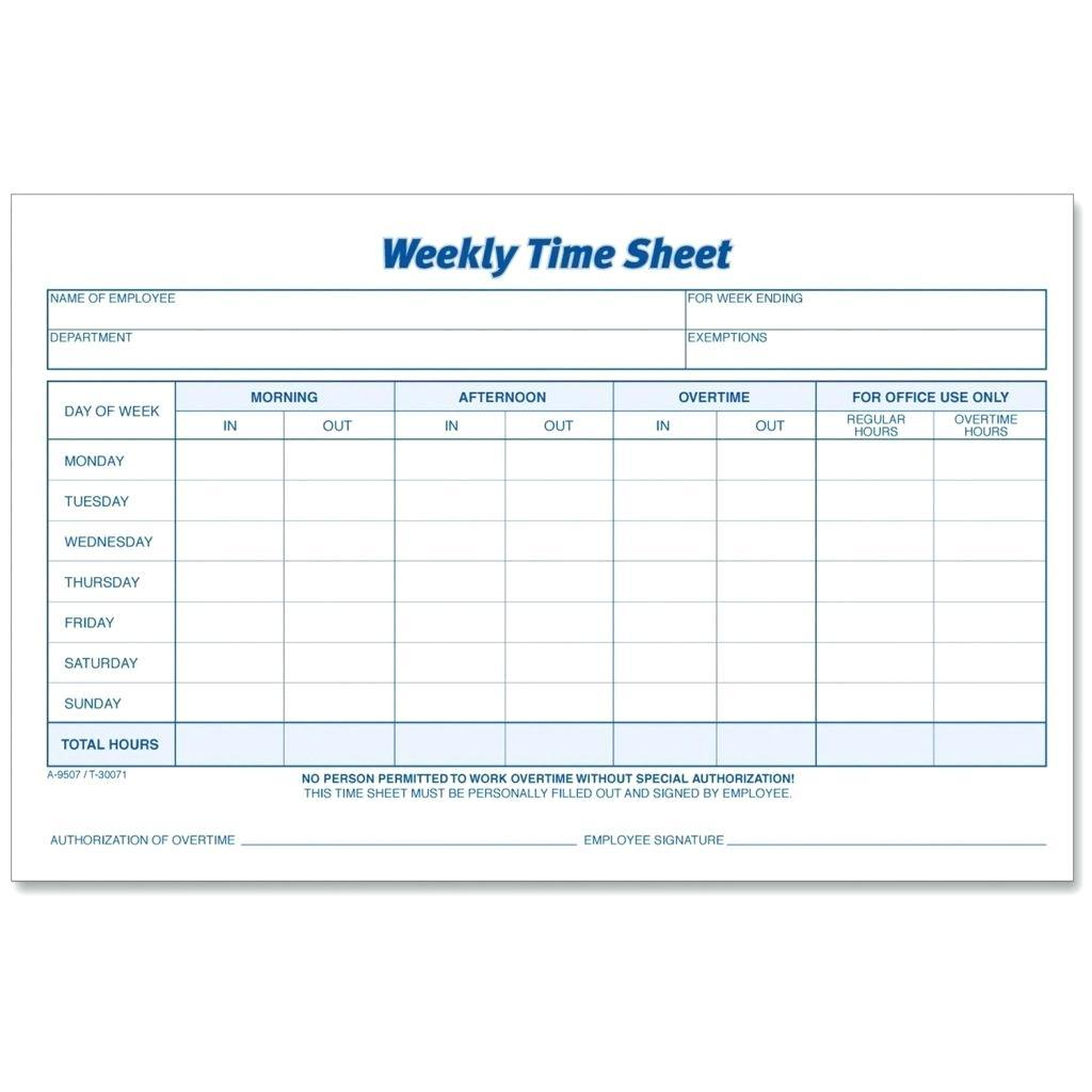 Biweekly Timesheet Template For Numbers