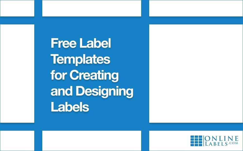 Blank A4 Label Templates