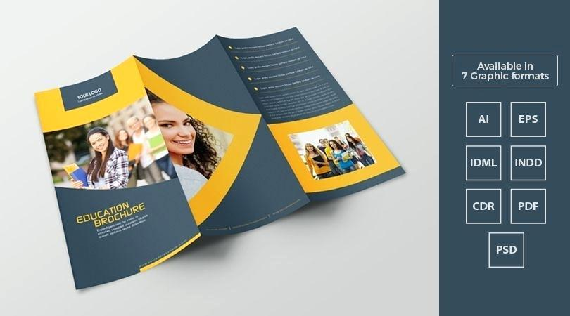 Blank Brochure Design Templates Free Download