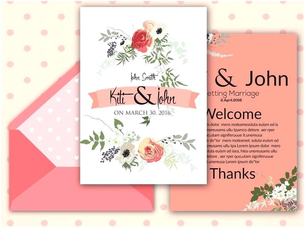 Blank Butterfly Invitation Template