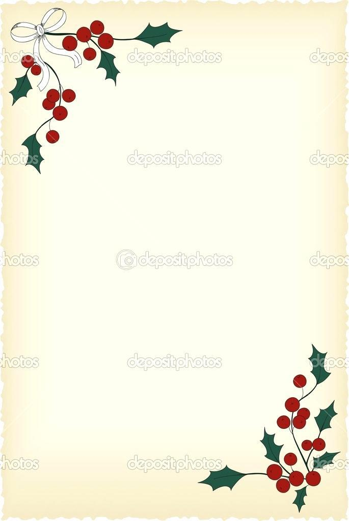 Blank Christmas Invitation Templates