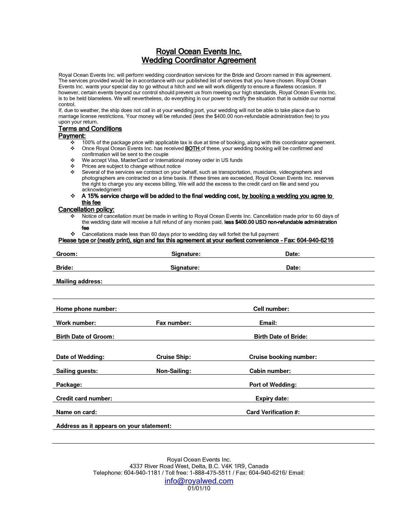 Blank Contract Template