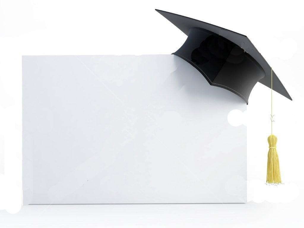 Blank Graduation Invitation Templates