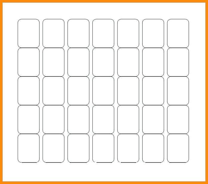 Blank Label Template 80 Per Sheet