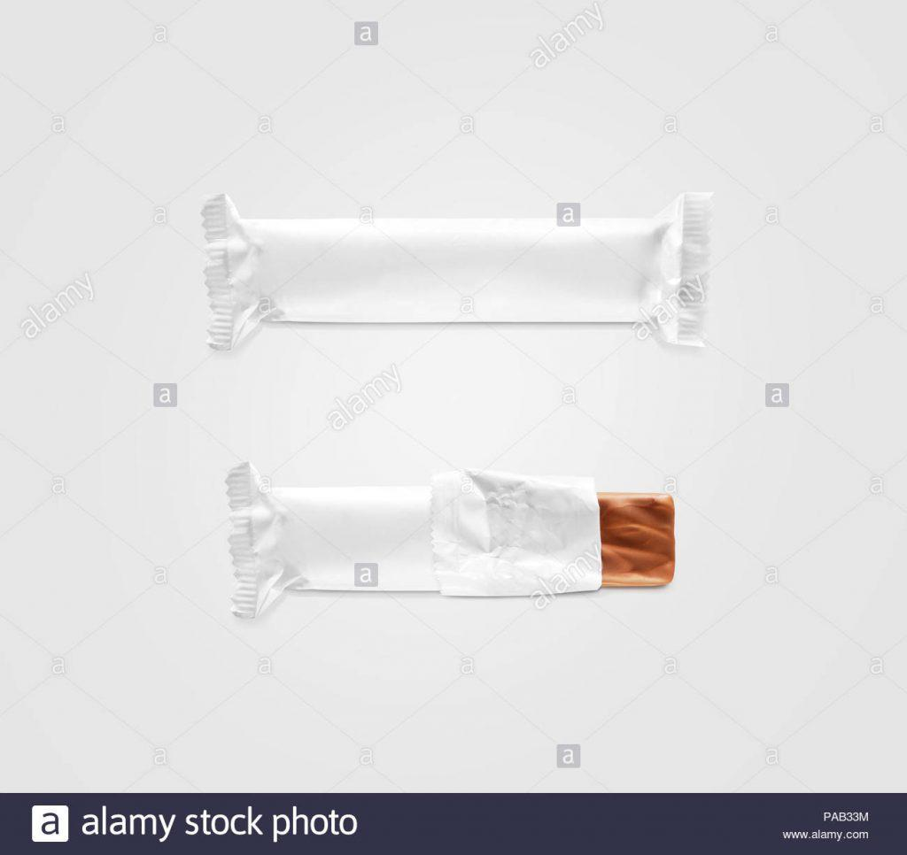 Blank Mini Candy Bar Wrapper Template