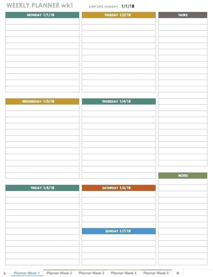 Blank Monthly Planning Calendar Template