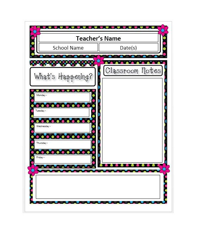Blank Newsletter Templates