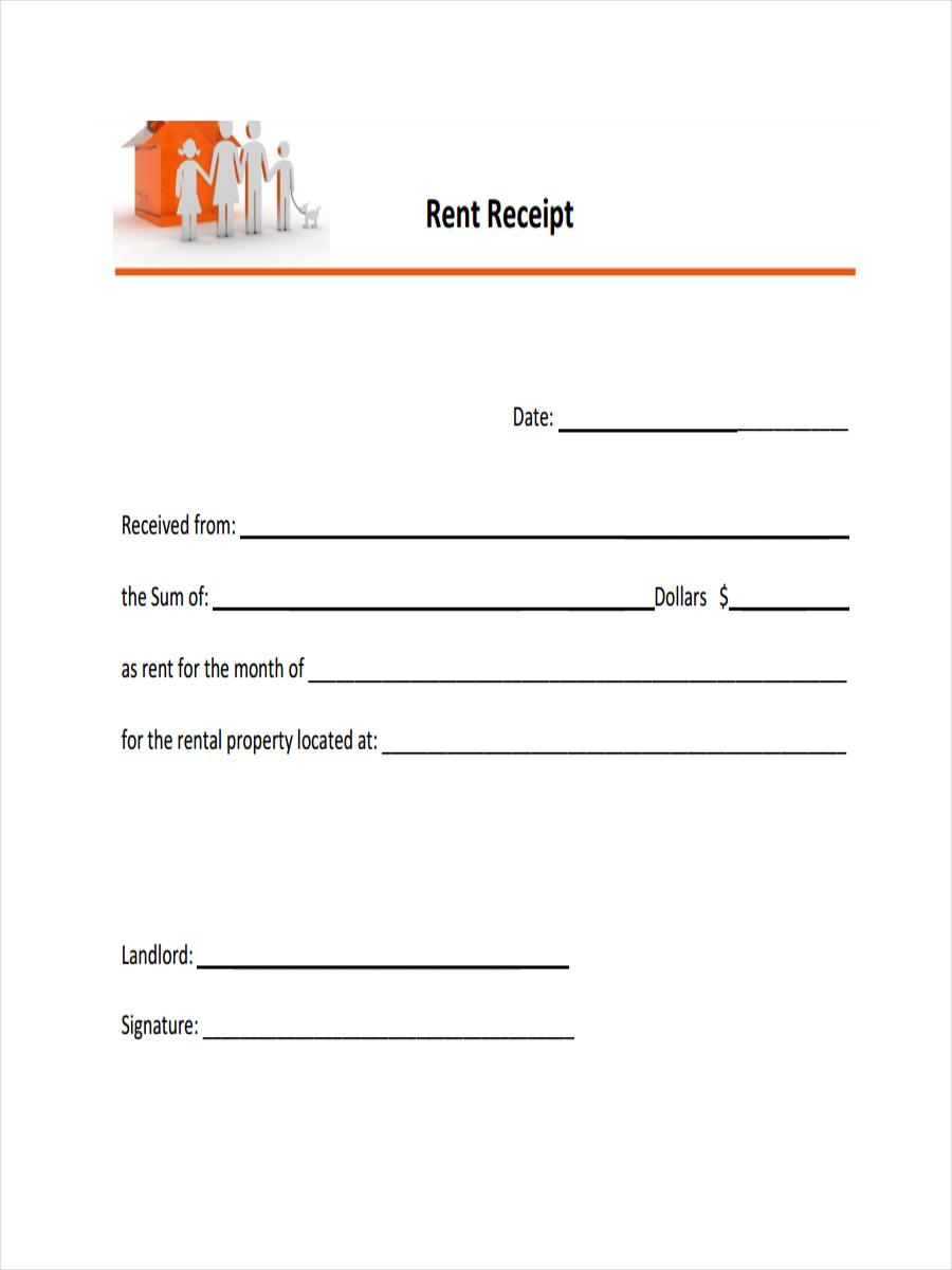 Blank Official Receipt Templates
