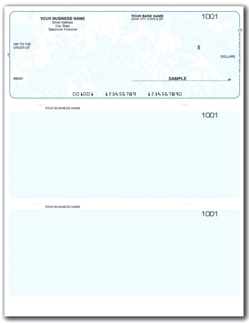 Blank Payroll Checks Templates