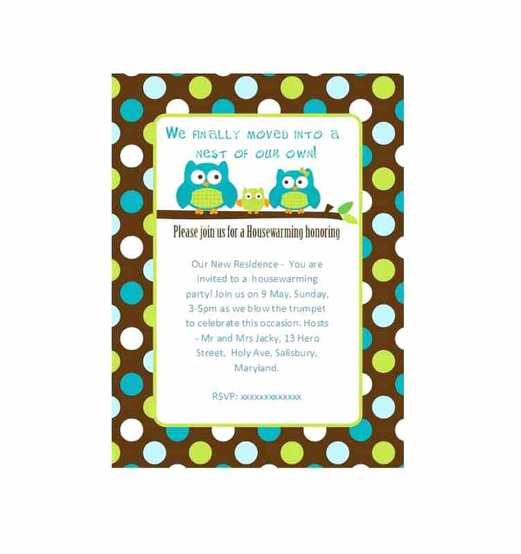Blank Templates For Party Invitations
