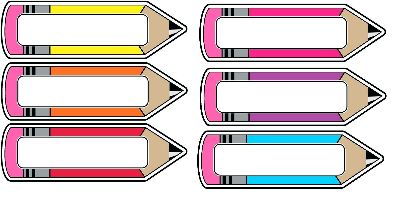 Blank Tray Label Templates
