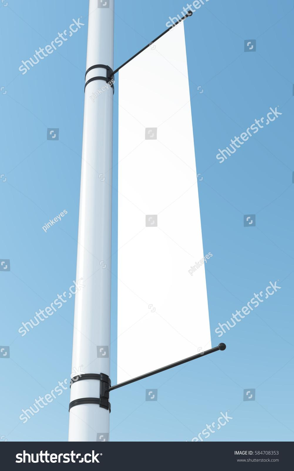 Blank Vertical Banner Template