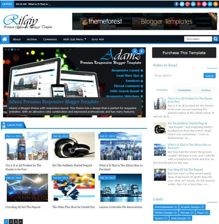 Blogger Templates Xml Free