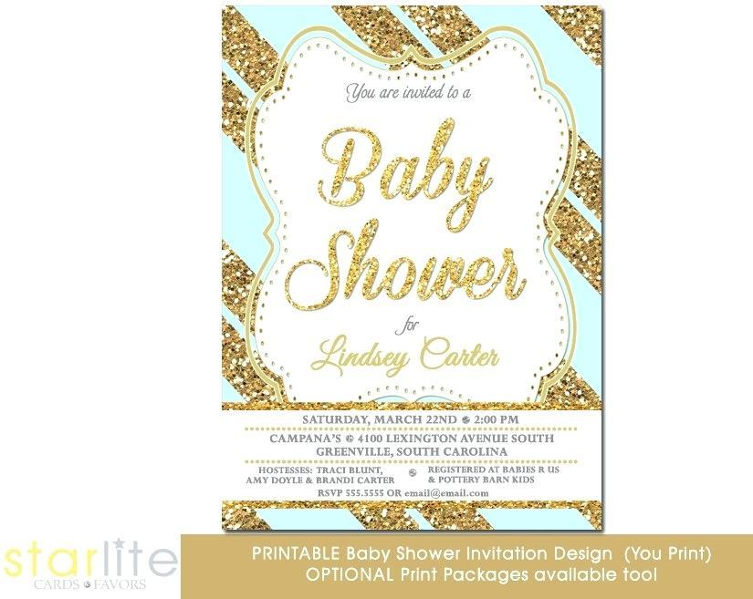 Blue And Gold Banquet Invitation Templates
