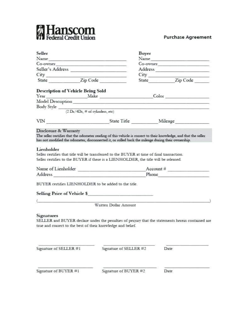 Boat Sale And Purchase Agreement Template Nz
