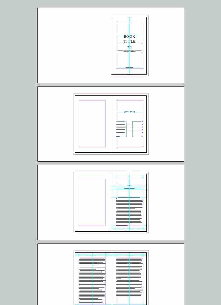 Book Design Layout Indesign