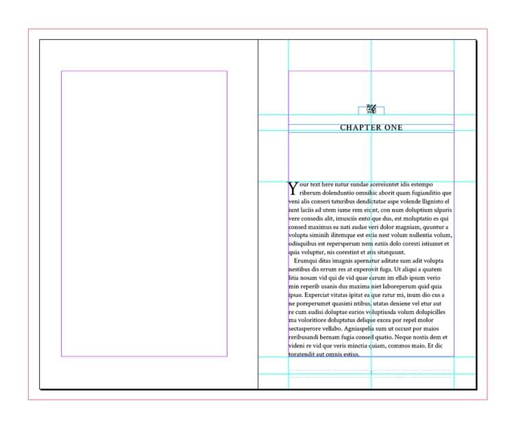 Book Template Indesign Download