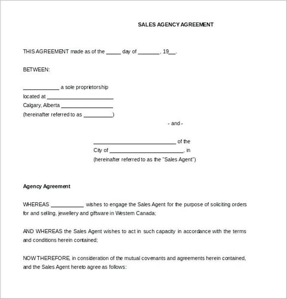 Booking Contract Template Free