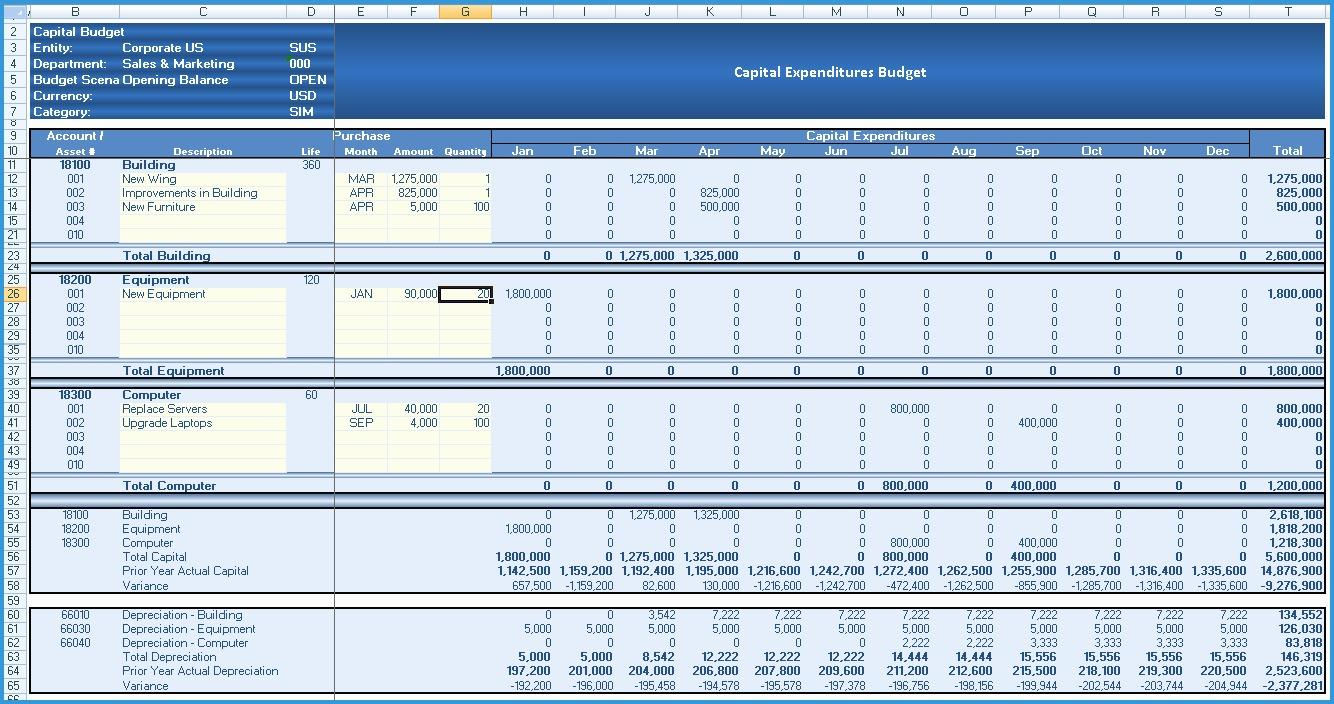 Bookkeeping Excel Templates Download