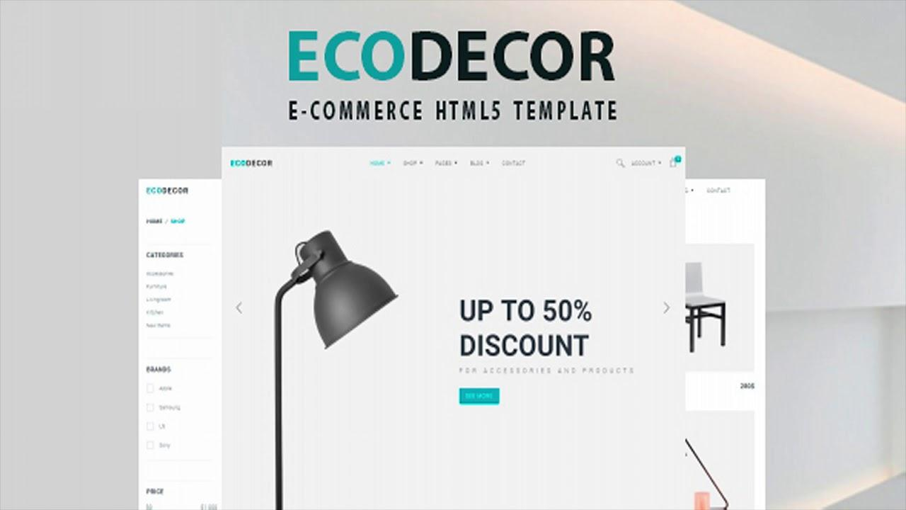 Bootstrap Ecommerce Templates Themeforest