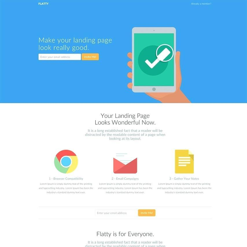 Bootstrap Newsletter Html Template
