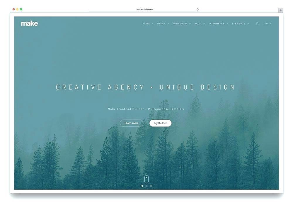 Bootstrap Parallax Website Template Free Download