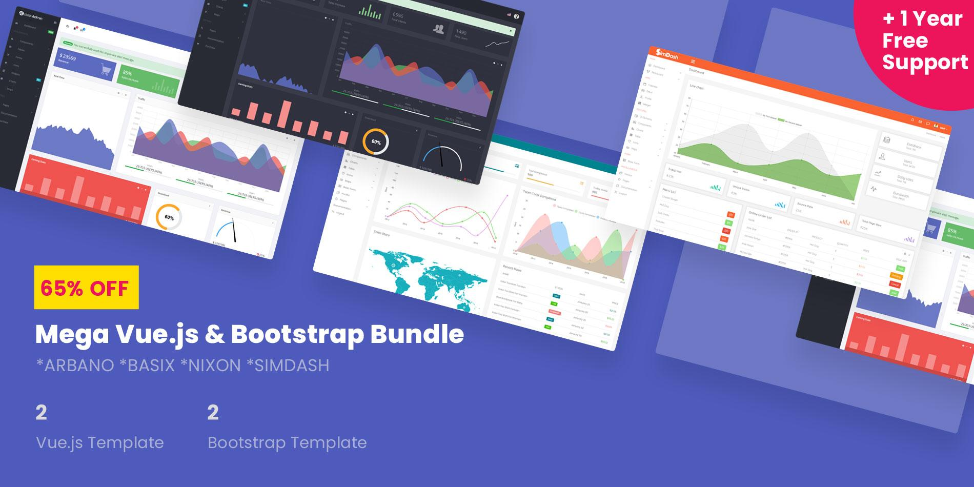 Bootstrap Premium Admin Templates Free Download