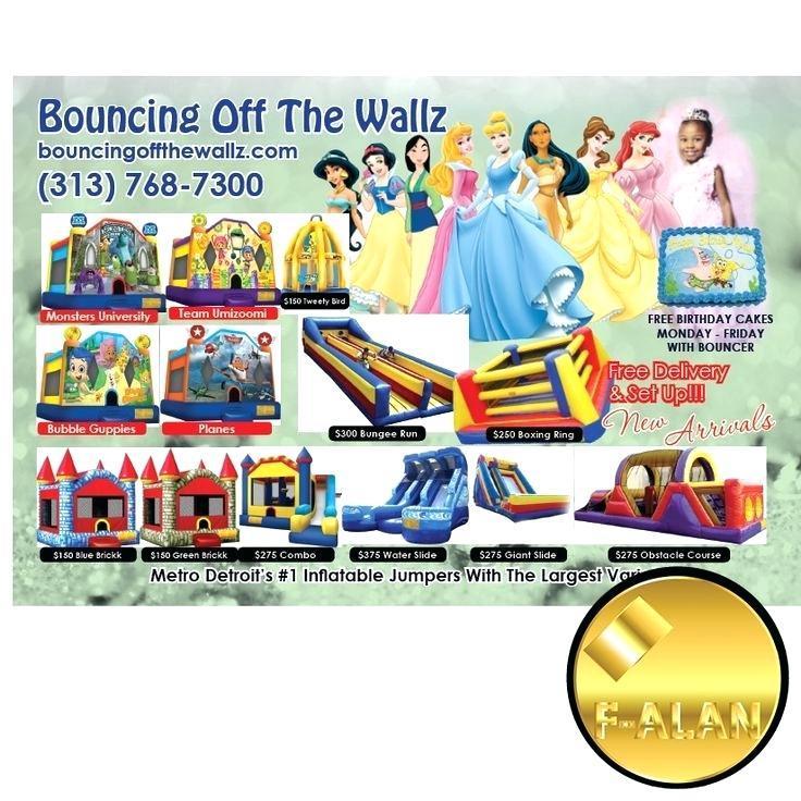 Bounce House Rental Flyer Template